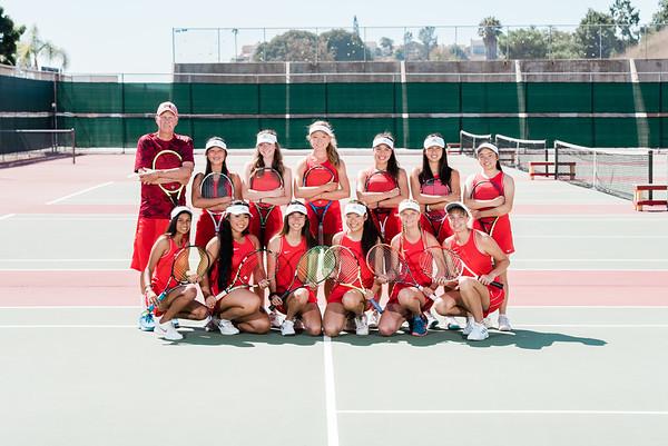 Varsity Girls Tennis (No Title)