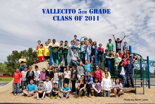 Vallecito 5th Grade Class-2120