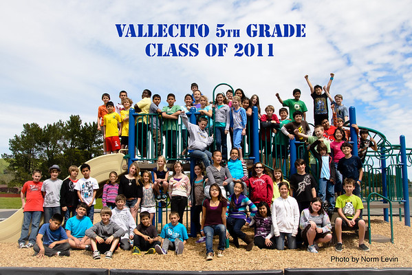 Vallecito 5th grade Class-2125