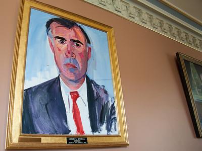 Gov. Jerry Brown's official 1974 portrait