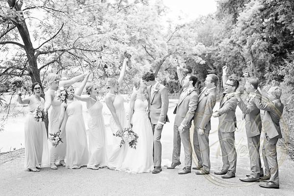 Kaelie and Tom Wedding 05J - 0004bw