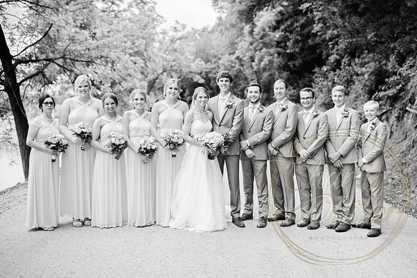 Kaelie and Tom Wedding 05C - 0004bw