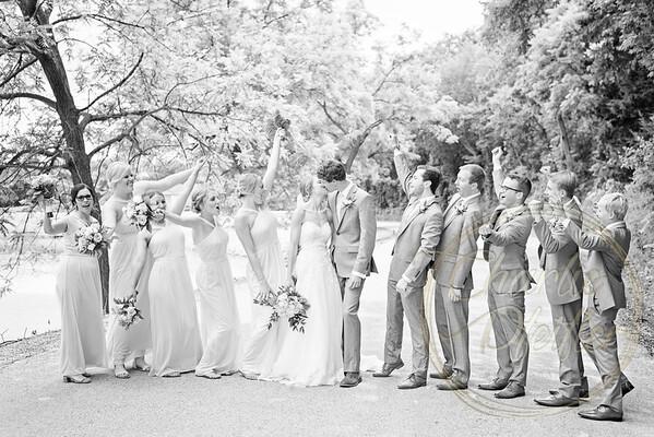 Kaelie and Tom Wedding 05J - 0003bw