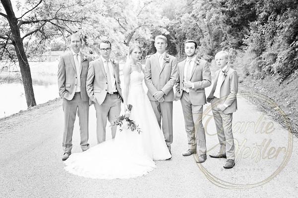Kaelie and Tom Wedding 05J - 0048bw