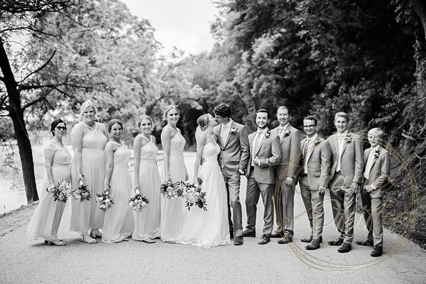 Kaelie and Tom Wedding 05C - 0009bw