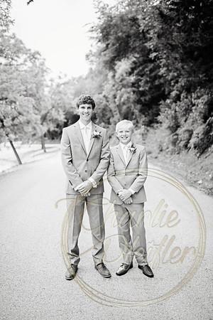 Kaelie and Tom Wedding 05C - 0103bw