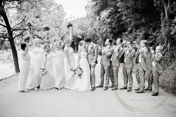 Kaelie and Tom Wedding 05C - 0013bw