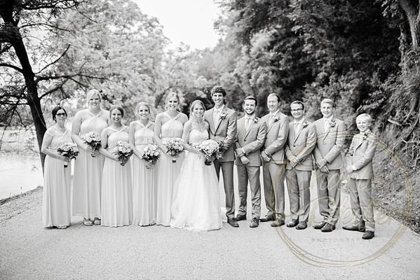 Kaelie and Tom Wedding 05C - 0003bw