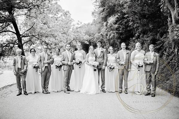 Kaelie and Tom Wedding 05C - 0016bw