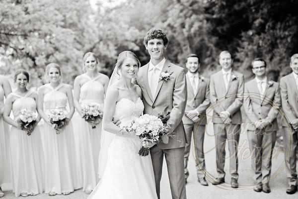 Kaelie and Tom Wedding 05C - 0018bw