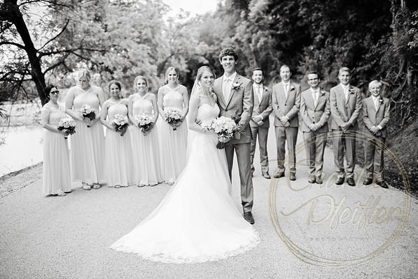 Kaelie and Tom Wedding 05C - 0020bw