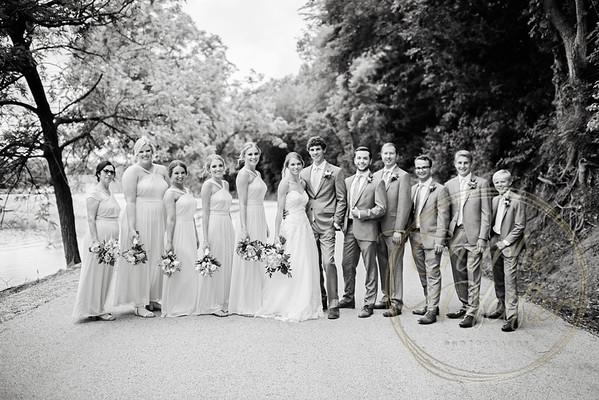 Kaelie and Tom Wedding 05C - 0008bw