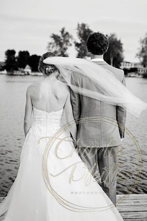 Kaelie and Tom Wedding 04C - 0075bw