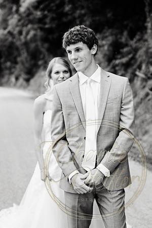 Kaelie and Tom Wedding 04C - 0013bw