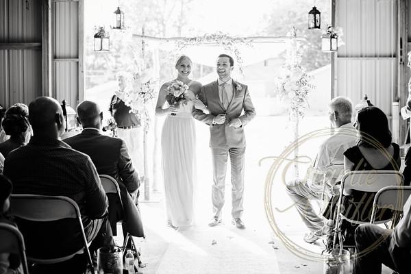 Kaelie and Tom Wedding 07C - 0106bw