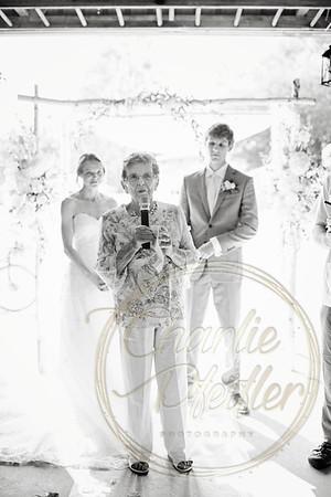 Kaelie and Tom Wedding 07C - 0045bw