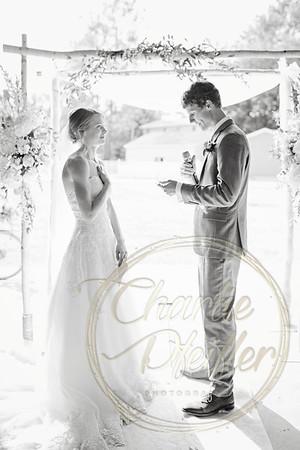 Kaelie and Tom Wedding 07C - 0064bw
