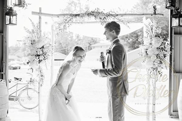 Kaelie and Tom Wedding 07C - 0066bw