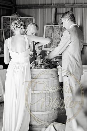 Kaelie and Tom Wedding 07C - 0073bw
