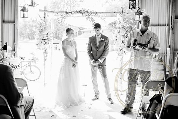 Kaelie and Tom Wedding 07C - 0049bw