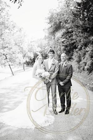 Kaelie and Tom Wedding 06C - 0011bw