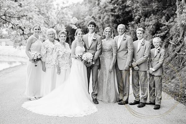 Kaelie and Tom Wedding 06C - 0031bw
