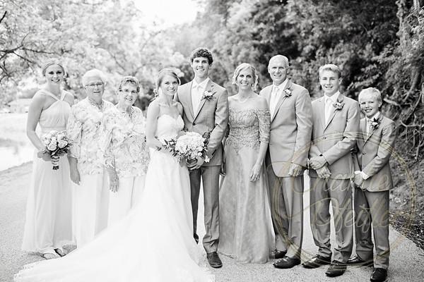 Kaelie and Tom Wedding 06C - 0033bw