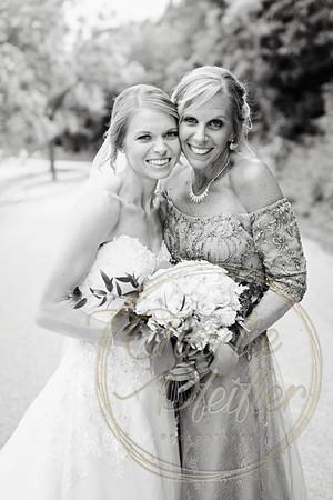 Kaelie and Tom Wedding 06C - 0066bw