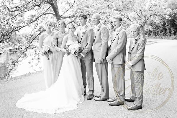 Kaelie and Tom Wedding 06J - 0031bw