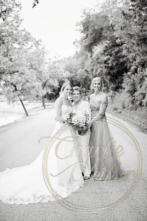 Kaelie and Tom Wedding 06C - 0056bw