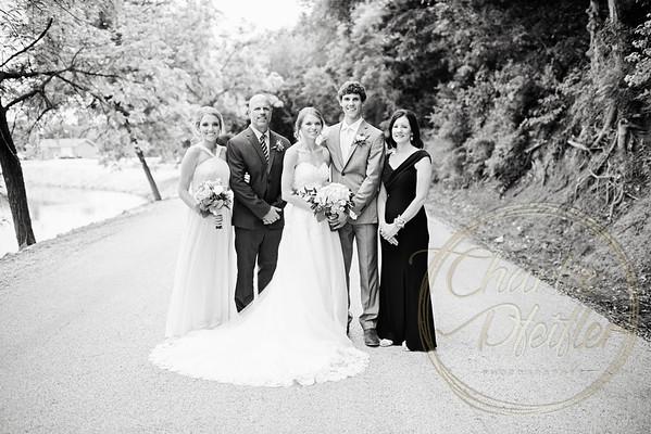 Kaelie and Tom Wedding 06C - 0030bw