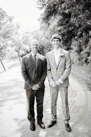 Kaelie and Tom Wedding 06C - 0016bw