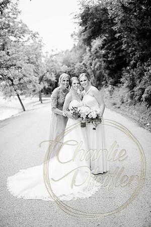 Kaelie and Tom Wedding 06C - 0082bw
