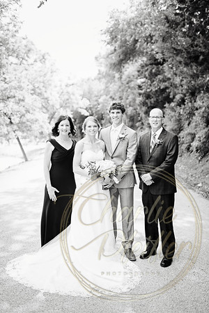 Kaelie and Tom Wedding 06C - 0004bw