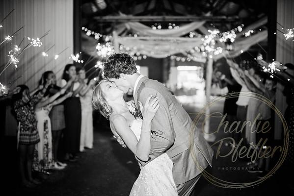 Kaelie and Tom Wedding 08C - 0397bw