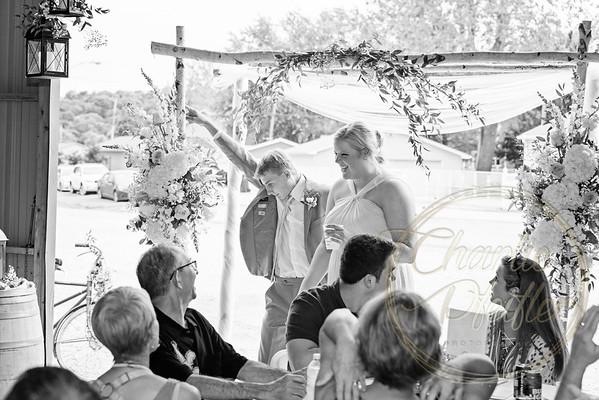 Kaelie and Tom Wedding 08J - 0006bw