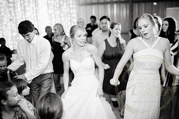 Kaelie and Tom Wedding 08C - 0184bw