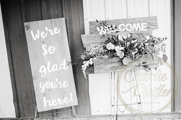 Kaelie and Tom Wedding 08C - 0065bw