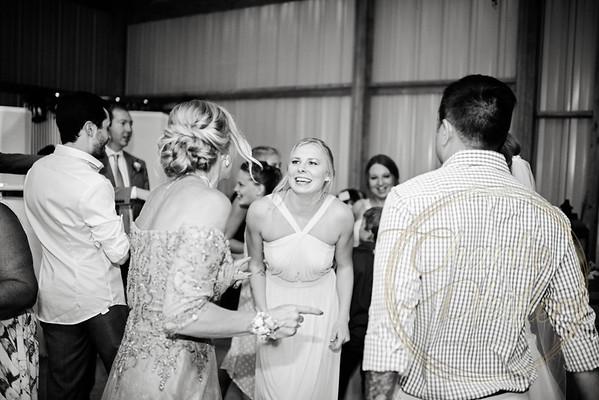 Kaelie and Tom Wedding 08C - 0165bw