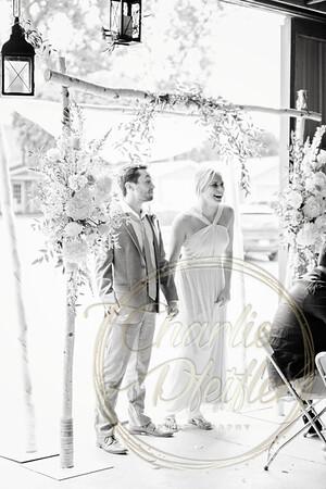 Kaelie and Tom Wedding 08C - 0018bw
