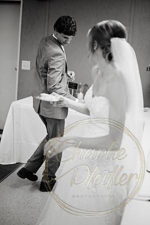 Kaelie and Tom Wedding 08C - 0059bw