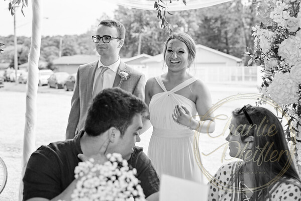 Kaelie and Tom Wedding 08J - 0007bw
