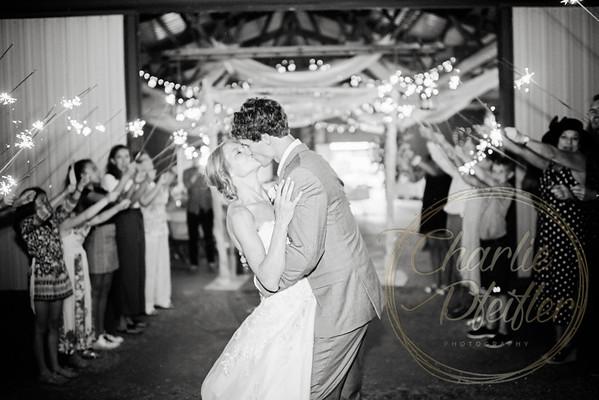 Kaelie and Tom Wedding 08C - 0396bw
