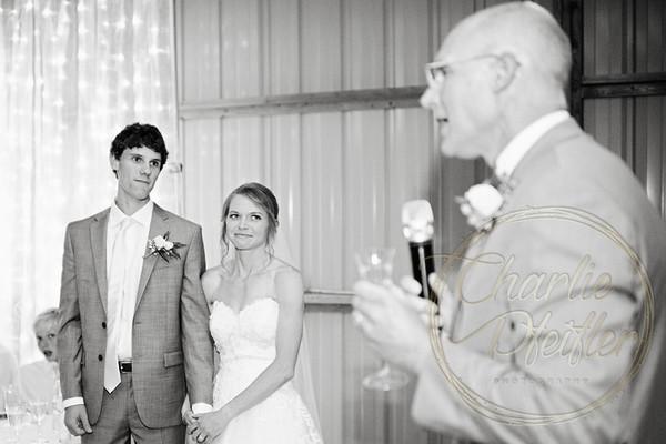 Kaelie and Tom Wedding 08C - 0116bw
