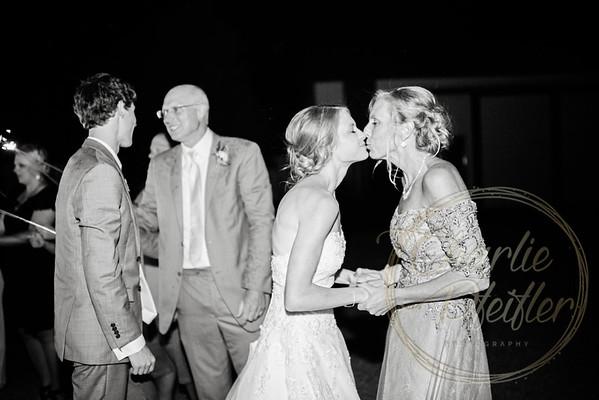 Kaelie and Tom Wedding 08C - 0409bw