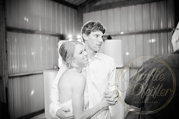 Kaelie and Tom Wedding 08C - 0248bw