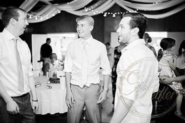 Kaelie and Tom Wedding 08C - 0287bw