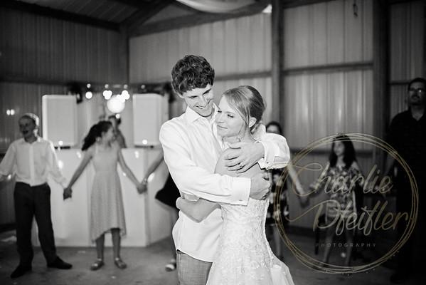 Kaelie and Tom Wedding 08C - 0374bw