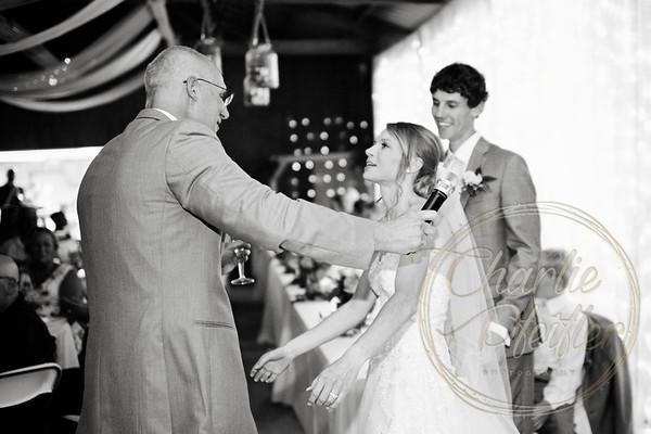 Kaelie and Tom Wedding 08C - 0120bw
