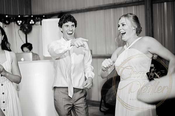 Kaelie and Tom Wedding 08C - 0207bw